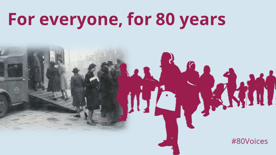 80 years of advice - 80 voices - website now and then image